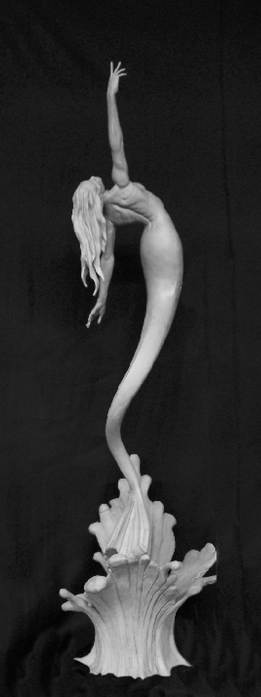Mermaid Sculpture by Karl Deen Sanders