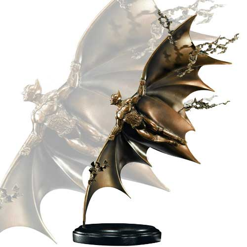 Batman Begins Flying Sculpture