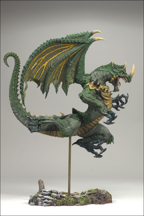 Berserker Dragon Clan Sculpture