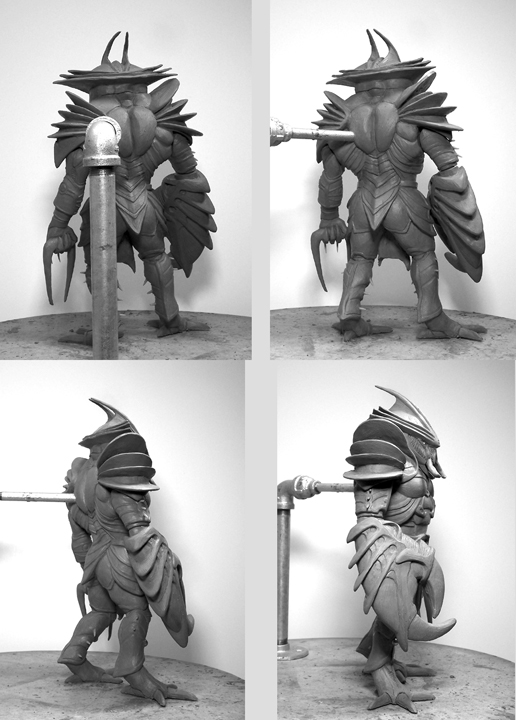 Cancer Action Figure Turnaround