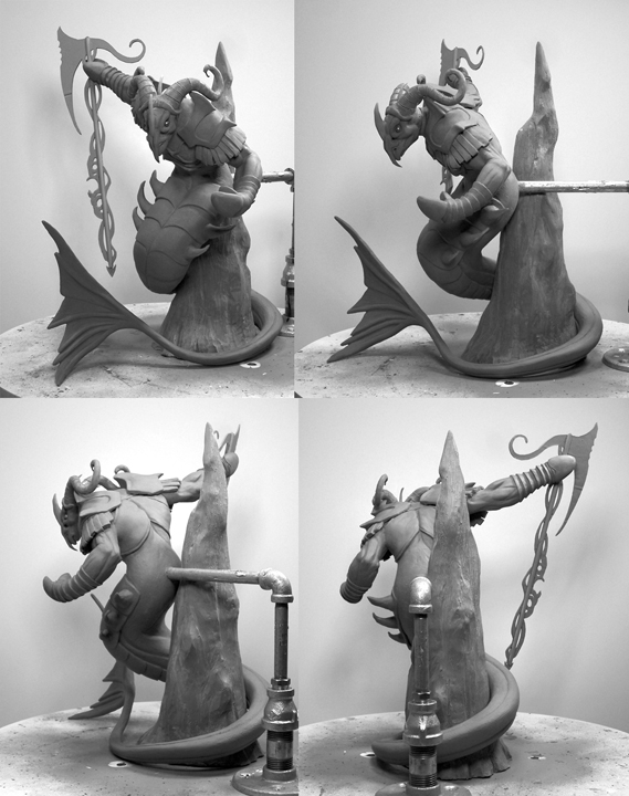 Capricorn Concept Sculpture Turnabout 1