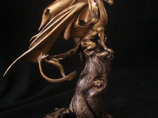 Fairy Dragon Bronze Sculpture