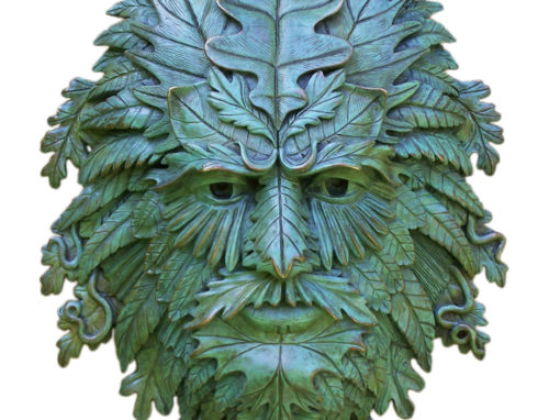 Hanging Green Man Door Knocker