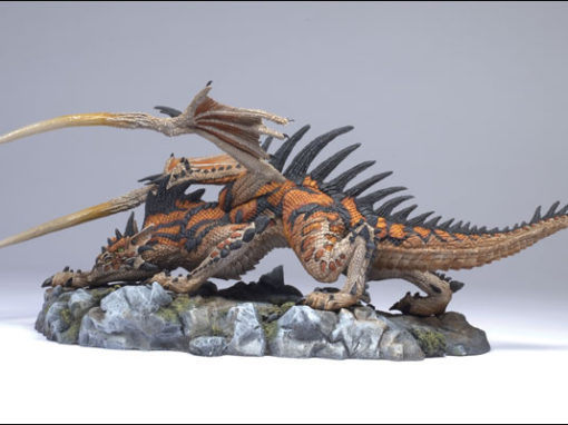 McFarlane's Hunter Dragon Clan Statue