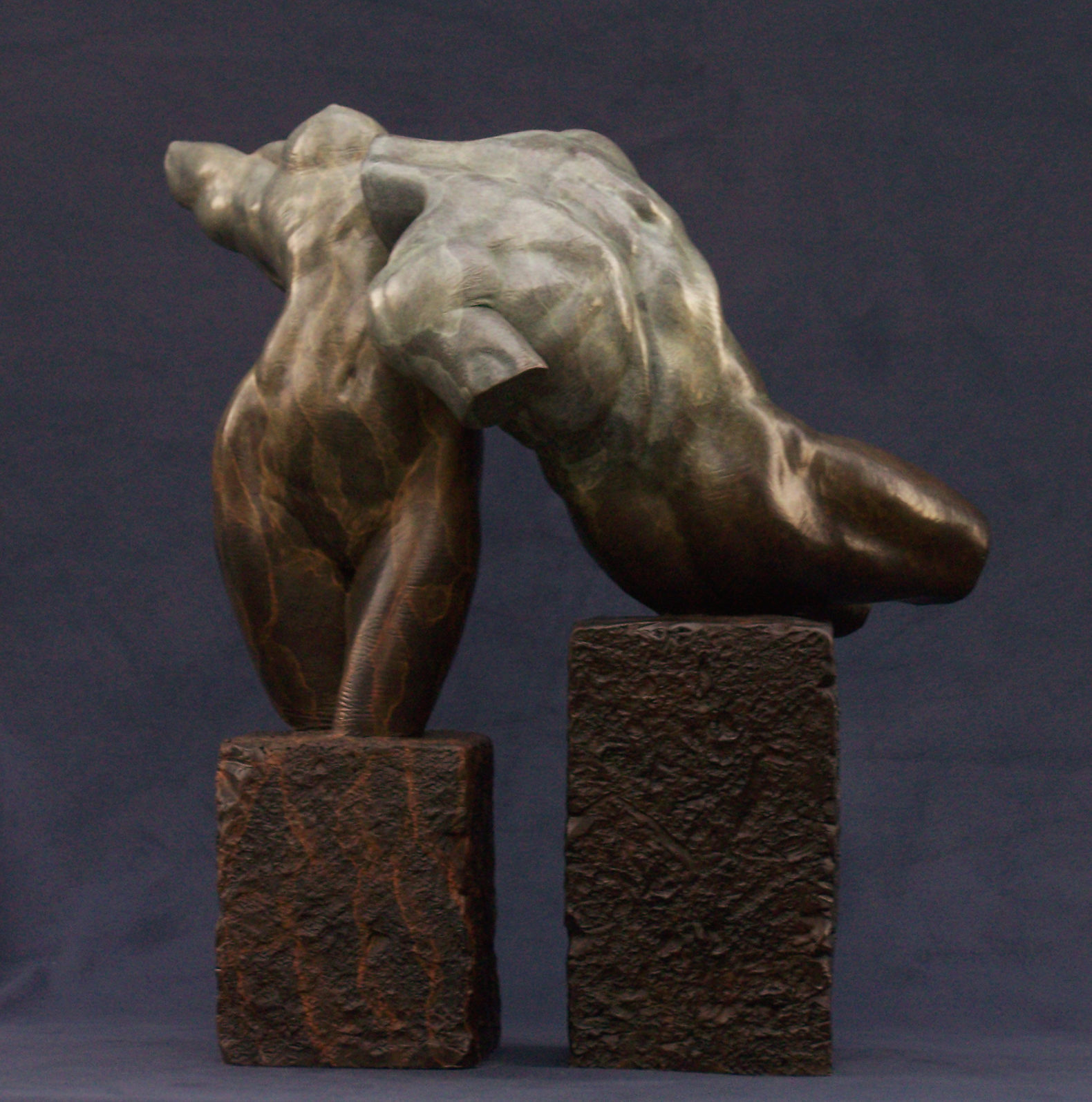 bronze sculpted nudes
