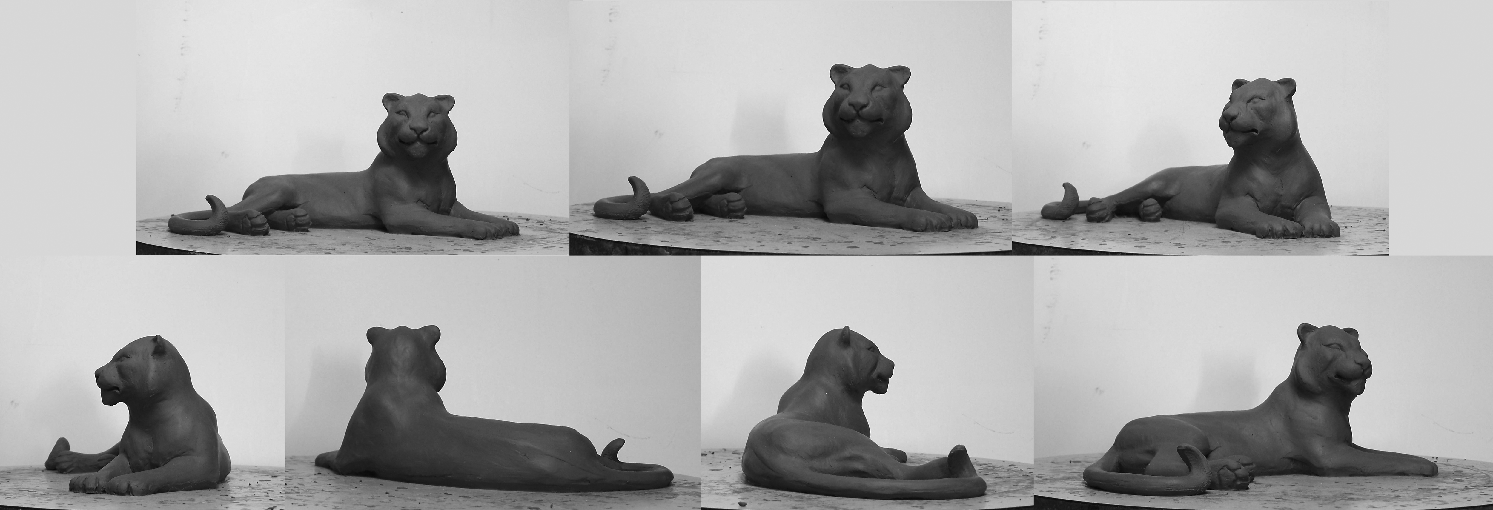tigress sculpture