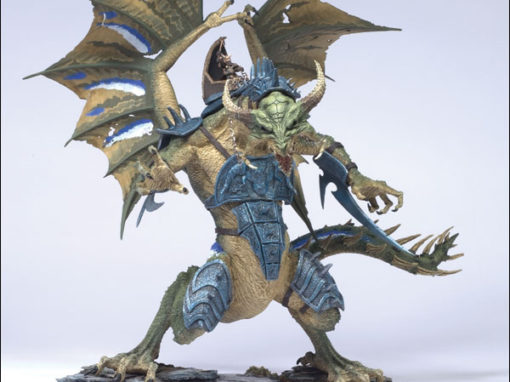 Warrior Dragon Action Figure