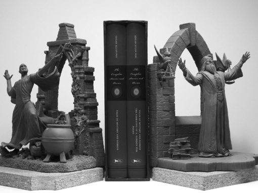 Voldemort and Dumbledore Bookends