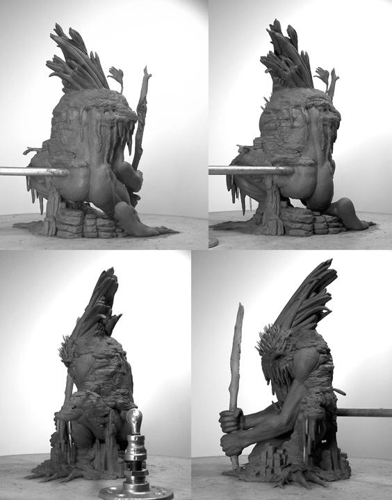 McFarlane Toys Twisted Jack Frost by Karl Deen Sanders