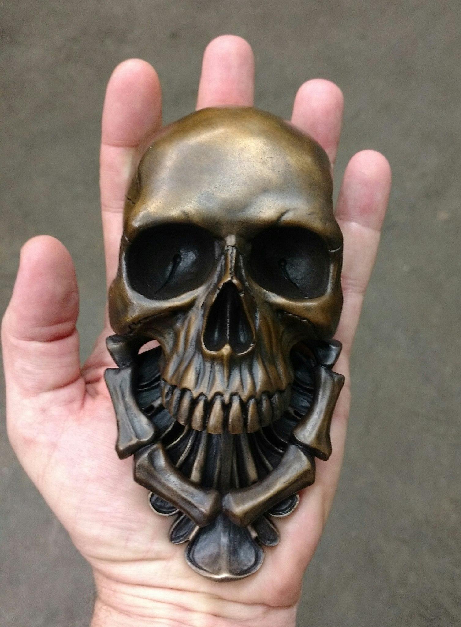 Skull Door Knocker Unique Skull Doorknocker