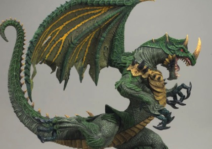 McFarlane's Berserker Dragon Sculpture