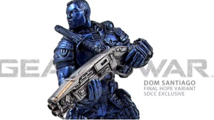 Dom Santiago Collectible Statue from Gears of War