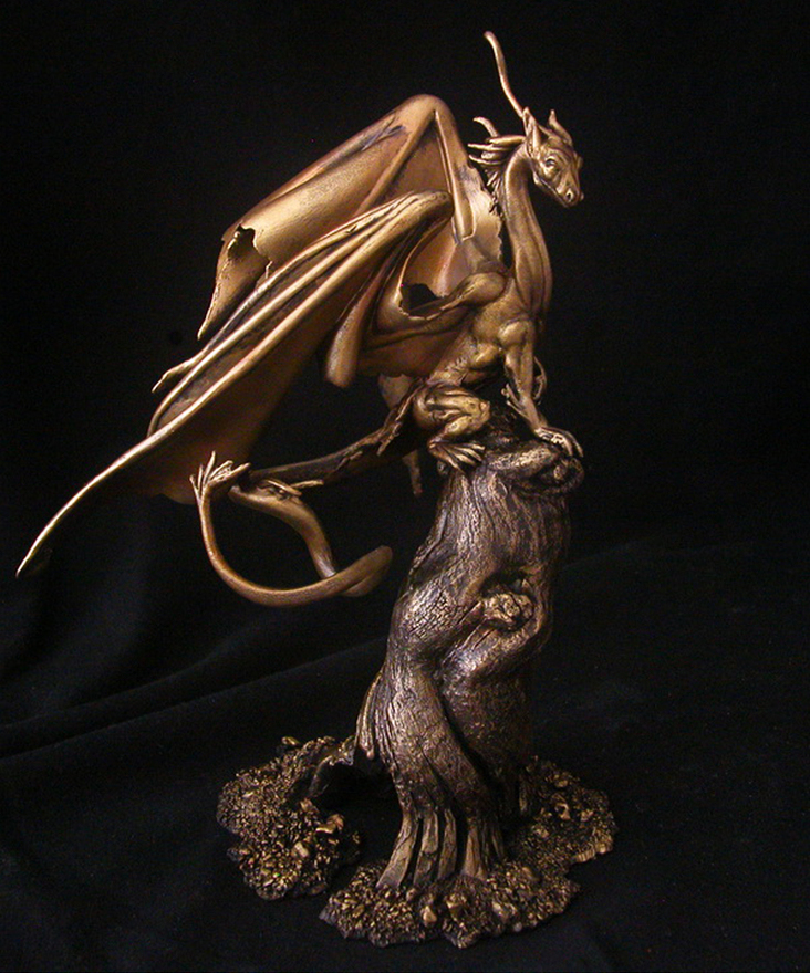Fairy Dragon Statue