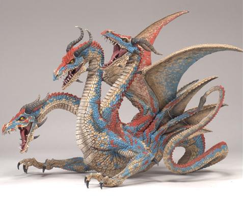 McFarlane Hydra Dragon Clan Statue