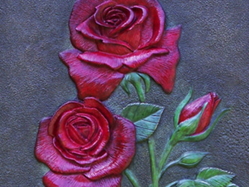 Decorative Rose Sculpture