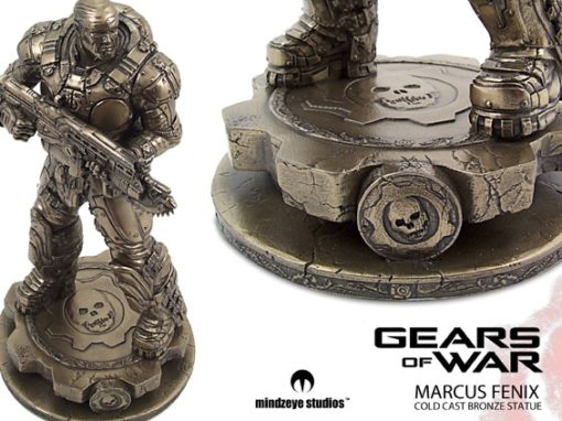 Marcus Fenix Statue from Gears of War