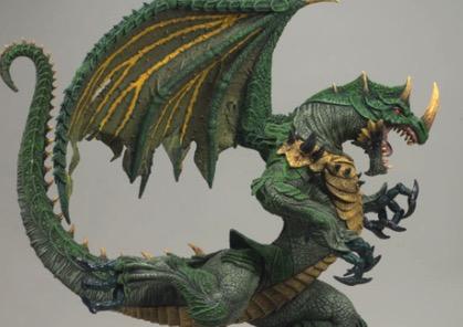 McFarlane's Berserker Dragon Sculpture