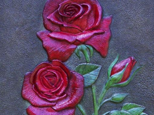 Decorative Rose Sculpture